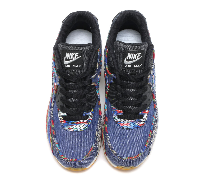 Nike Air Max 90 Afro Punk oben