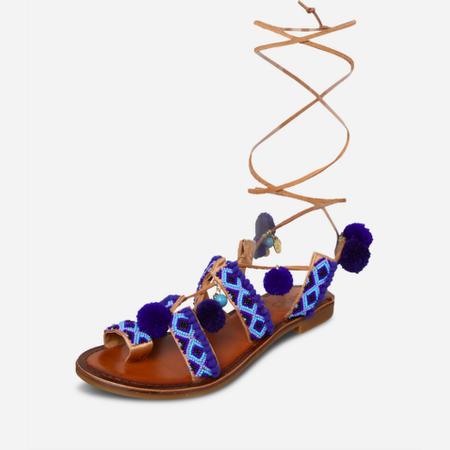 Inuovo Sandalen - Perlenbesatz