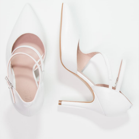 Zign High Heel Pumps weiss