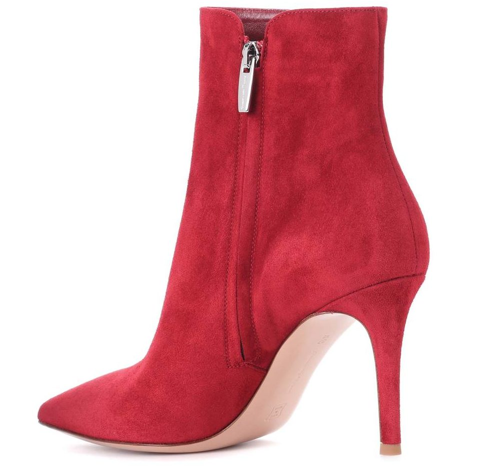 Gianvito Rossi - Levy 85 Heels in rot