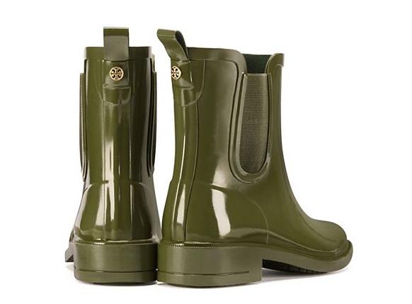 Tory Burch Stormy Rain Boots