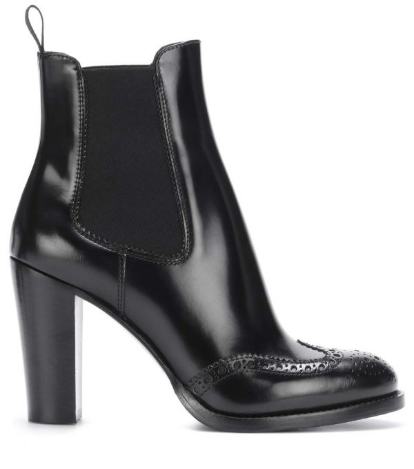 CHURCH's Ketsby Leder Ankle Boots in schwarz