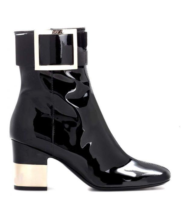 ROGER VIVIER Podium Square Ankle Boots