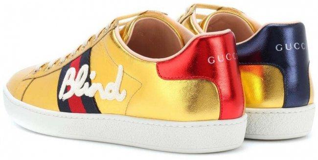 GUCCI Ace Ledersneaker 2018