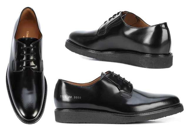 COMMON PROJECTS Lace Up Derby
