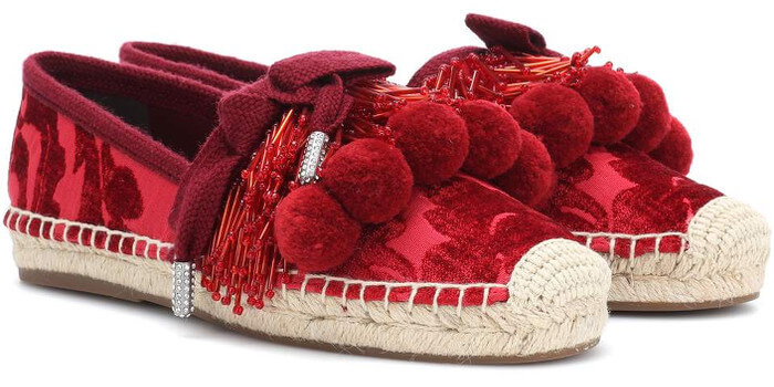 MARC JACOBS Espadrilles rot 2018