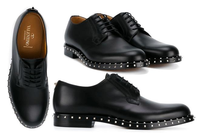VALENTNO Derby Schuhe mit Nieten