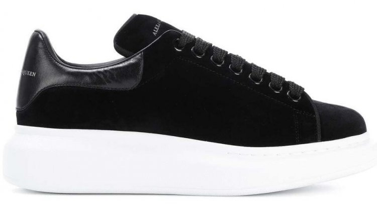 Alexander McQueen Velvet Sneaker