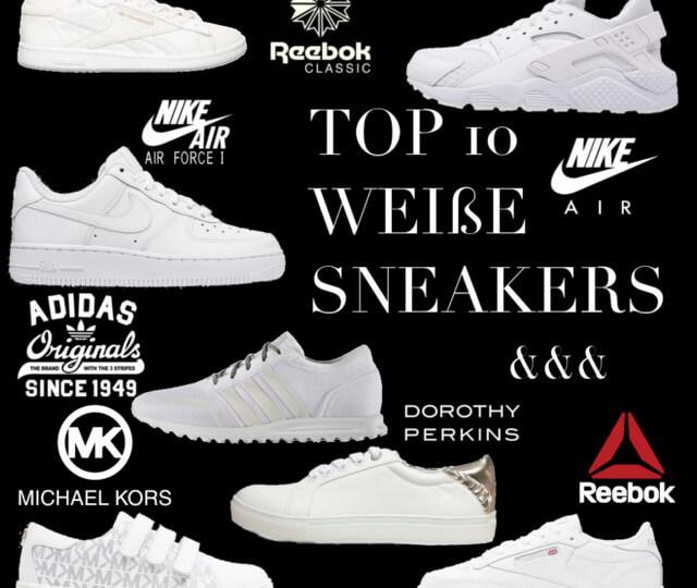 best service eaef7 5f15c Zehn beliebtesten weißen Sneaker für Frauen unter 100 Euro